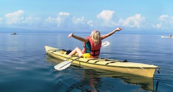 location kayak à saint-tropez